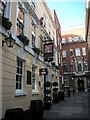 TQ3181 : The Devereux Public House, Devereux Court, London by PAUL FARMER