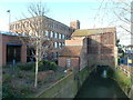ST8557 : Studley mill and handle house, Trowbridge by Chris Allen