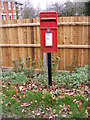 TM2372 : Wootten Green Postbox by Adrian Cable
