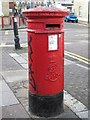 TQ2183 : Edward VII postbox, Crownhill Road / Manor Park Road (A404), NW10 by Mike Quinn