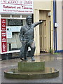 NT9464 : Eyemouth: Willie Spears memorial by Chris Downer