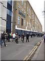 TQ3491 : East Stand, White Hart Lane by Philip Halling