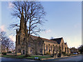 SJ7991 : Parish Church of St Anne, Sale by David Dixon