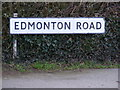 TM2145 : Edmonton Road sign by Adrian Cable