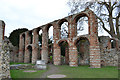 TL9924 : The Priory Remains of St Julian and St Botolph, Colchester, Essex by Peter Stack