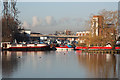 SK9771 : Brayford Pool by Richard Croft