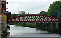 SJ8398 : Irwell Street Bridge, Salford by Stephen Richards