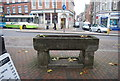 TQ5946 : Water trough, High St by N Chadwick