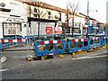 SJ9594 : Roadworks on Clarendon Place by Gerald England