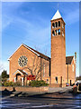 SJ7692 : All Saints' RC Church, Ashton-on-Mersey by David Dixon