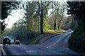 TQ2749 : Road Junction on Redhill Common, Surrey by Peter Trimming