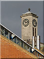 TQ2080 : Acton Town Hall clock tower by Alan Murray-Rust