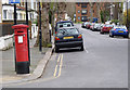 TQ2080 : The Vale | Mansell Road postbox (ref. W3 21) by Alan Murray-Rust