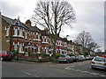 TQ3275 : Fawnbrake Avenue, Herne Hill by Richard Dorrell