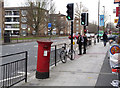 TQ2180 : Post Office | 125/127 The Vale, W3 postbox (ref. W3 9) by Alan Murray-Rust