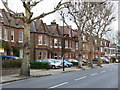 TQ2179 : Stamford Brook Road by Alan Murray-Rust