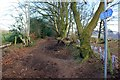 SJ5671 : Path on the Delamere Loop by Jeff Buck