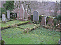 NG8227 : Quiet corner of Kirkton churchyard by Richard Dorrell