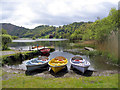 NY3306 : Boats at Grasmere by Brian Norman