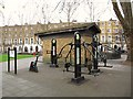 TQ3082 : Your Outdoor Gym, Argyle Square, WC1 by Mike Quinn
