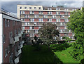 TQ2581 : Hallfield Estate, Bishop's Bridge Road (2) by Stephen Richards