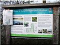 TQ6587 : Sign at Langdon Lake and MeadowsNature Reserve by PAUL FARMER