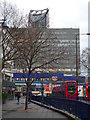 TQ3179 : Pavement, Elephant and Castle SE1 by R Sones