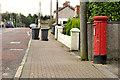 J3569 : Pillar box, Belfast by Albert Bridge