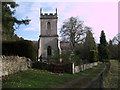 SP0013 : St. James's Church, Colesbourne by Vieve Forward