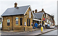 Dist:0.2km<br/>Built by the Great Northern Railway in 1870, the ticket office closely matches the one at Totteridge and Whetstone on the Barnet Branch of the Northern Line - also a GNR constructed railway line.