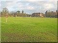 SK7755 : Playing fields at Kelham Hall by Trevor Rickard