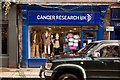 SJ7578 : Cancer Research UK charity shop, King Street, Knutsford by Roger A Smith
