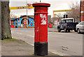 J3574 : Victorian pillar box, Belfast by Albert Bridge