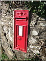 SX5192 : Postbox, Hardhill Cross by Derek Harper