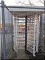 SP0076 : No Rover Workers Will Ever Pass Through This Turnstile Again by Roy Hughes
