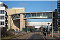TR3359 : Footbridge over Ramsgate Road by Oast House Archive