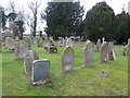 TL1653 : The Parish Church of St Peter, Tempsford, Graveyard by Alexander P Kapp