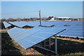 TR3362 : Richborough solar farm by Oast House Archive