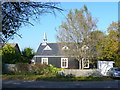 SY9997 : Tin Shack Church Merley Park Rd by Nigel Mykura