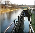 SJ9495 : Sluice gates by Gerald England
