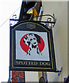 SP0786 : The Spotted Dog (3) - sign, Meriden Street, Digbeth, Birmingham by P L Chadwick