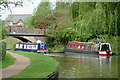 SJ8934 : Trent and Mersey Canal near Stone, Staffordshire by Roger  Kidd