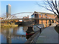 SJ8397 : Merchants Bridge, Castlefield by David Dixon