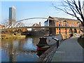 SJ8397 : Merchants Bridge, Castlefield by David Dixon