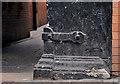 J3474 : Corner protection, Belfast (7) by Albert Bridge