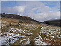SK0699 : The Pennine Way leaves Crowden for the north by John Slater