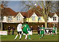 TQ6200 : Football match at The Oval, home of Eastbourne United FC by nick macneill