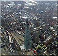 TQ3280 : The Shard from the air by Thomas Nugent