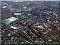 TQ3275 : Dulwich from the air by Thomas Nugent