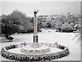 TQ8110 : Memorial at Alexandra Park by Oast House Archive